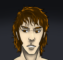 Dave The Outlaw Without Glasses And Hat by Dav69