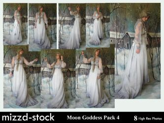 Moon Goddess Pack 4 by mizzd-stock
