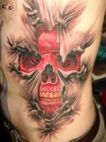 Front Tattoo by aashishsahrawat