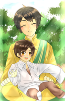 That Old Picture Of Us ( E. Malaysia and Brunei ) by Meng-Chii