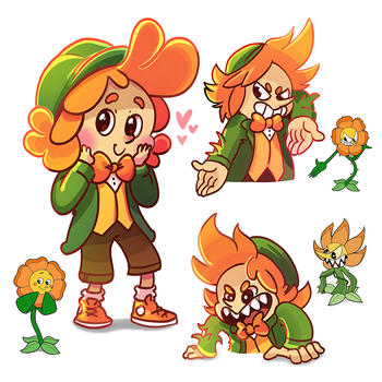 Cagney Carnation Doodles by TsaoShin
