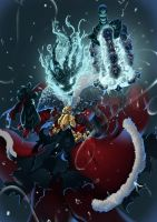 LOL Thresh Christmas by nguyenvl08