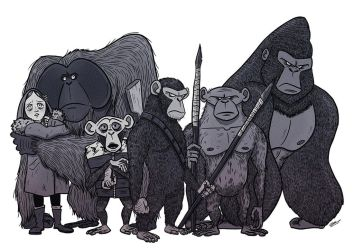 PLANET OF THE APES by GrievousGeneral