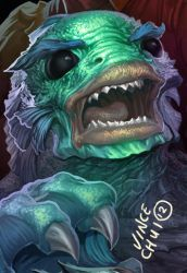 monster 2 of5 Creature from Black Lagoon by kidchuckle