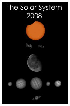 The Solar System 2008 by Chrissyo
