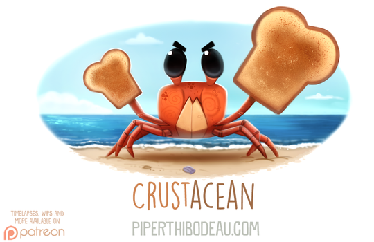 Daily Paint 1609. Crustacean by Cryptid-Creations