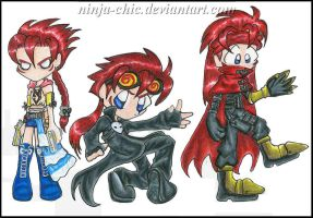 -Halloween Costumes for Reno- by Ninja-Chic