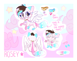 Rosey Redesigned by RoseyWingedCat