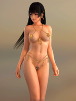 Dead or Alive DOA Nyotengu Fortune by RadiantEld