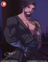 Hanzo by Dudeles29
