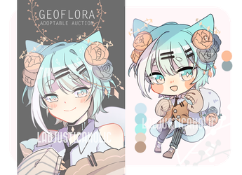 GEOFLORA ADOPTABLE 6 AUCTION   CLOSED by LabJusticaholic