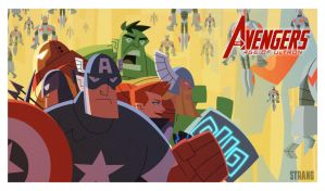 Avengers: Age of Ultron by VonToten