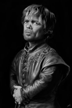 Peter Dinklage as Tyrion. by staciangst
