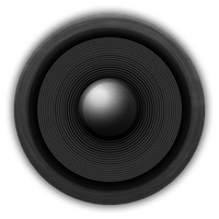 Speaker Icon (ICO, PNG) by micahpkay