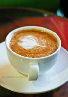 heart in a cup. by AlexandraBuck