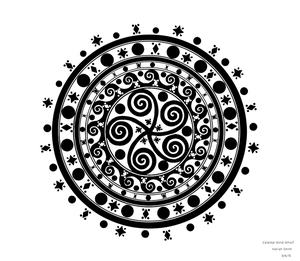 Clestial Wind Whorl BW1 by CherokeeGal1975