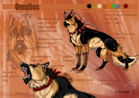 Omnibus - Character sheet by Barguest