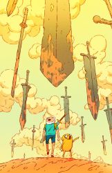 Adventure Time #75 Subscription Cover by pijus