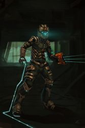 dead space by WhoAmI01