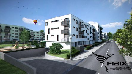 Residential housing complex by Holowood