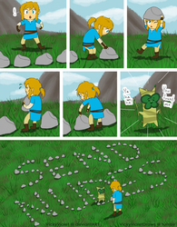 Inappropriate Korok Puzzle by VickyViolet