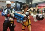 Soldier 76 and Tracer by R-Legend