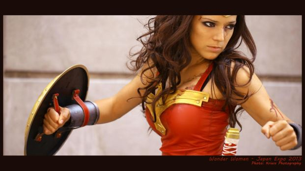 Wonder Woman ( Japan Expo 2013 ) by illyne