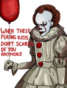pennywise by vklyush