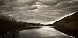 Scottish loch by Jordan2002