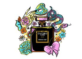 Poison of Choice: Chloroform Perfume by MissChatZ