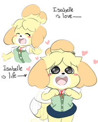 Isabelle best wifu by VallyCuts