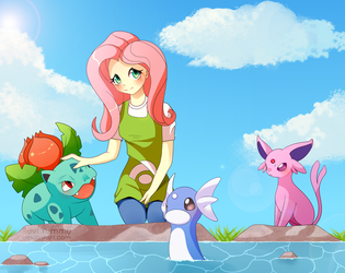 [COMMISSION] Fluttershy's team by SeviYummy