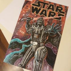 Blank Cover Art for Star Wars no1 by draldede