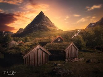 Summer in Innerdalen by streamweb