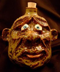 complete big nose face jug by thebigduluth
