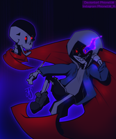 DustTale - Sans and Papyrus by Phione538