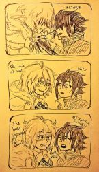 Mika is a lil shit by NayruElric