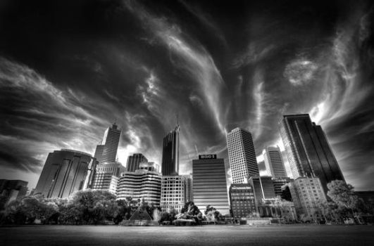 Perth City HDR by LEONARDOdarwinCI