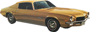 Chevrolet 1971 Camaro coupe (stock) by linux-rules