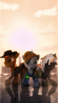 We are the ones who will change these wasteland! by SelestLight