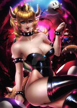 Bowsette !! by magato98