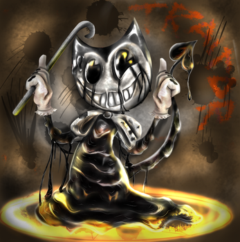 Bendy (speedpaint!!!!) by Crying-Colours