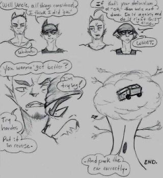 Ignition (Whiskerville Mini Comic #1) by Jay-Jay3