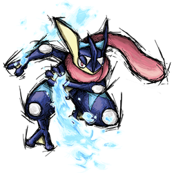 Smash Striker: Greninja by Tails1000