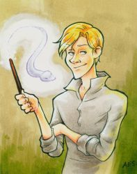 Draco Malfoy by laerry