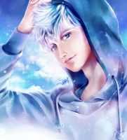 Jack Frost: Warmhearted Ice Guardian by Yinamon