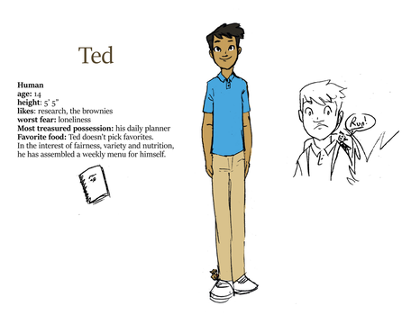 Ted Toussaint ref by Sallyrah