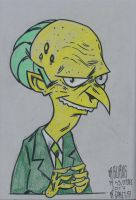 Mr Burns by jacksony22
