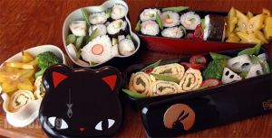 Uzumaki Bento by YnekochanY