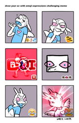 emoji expression meme by whitekitestrings